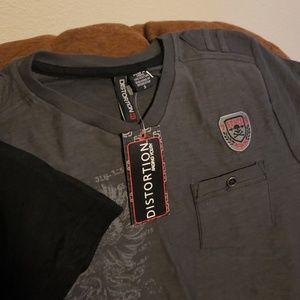 Distortion Shirts & Tops - 4/$20 NWT Distortion shirts